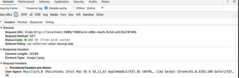 Javascript: Web API中的Blob, 使用URL createObjectURL创建url对象
