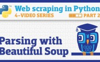 Python 网络爬虫:Python解析html, Beautiful Soup的用法