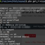 PHP: 获得PayPal Transaction信息,payment 信息(GetTransactionDetails API), PHP paypal nvp