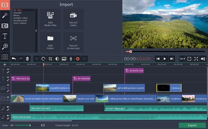 视频编辑软件:Movavi Video Editor Plus (Mac 破解版 )