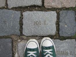 Wondering who Joe K. is in Aachen, Germany