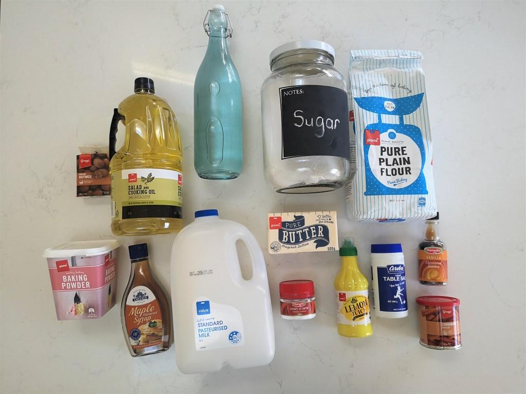 Koeksister Ingredients