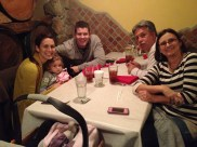 Bravo's for dinner- one of our favorite spots