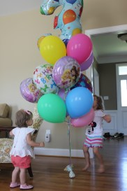 Granny's bday balloon surprise!
