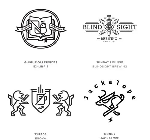 Line Craft Logo Design Trends
