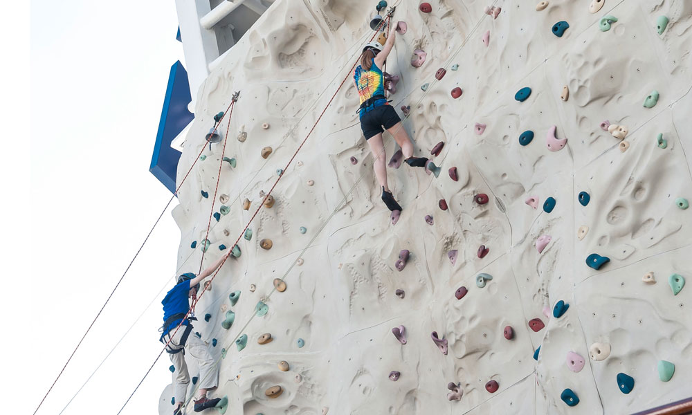 Image result for ROCK CLIMBING VOYAGER OF THE SEAS