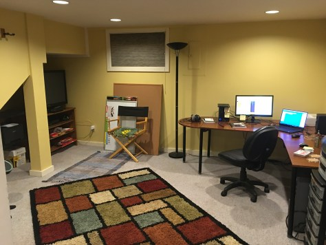 The Foxxy Games offices (work in progress, Startup-Edition)