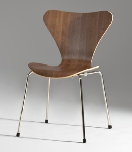 Series 7 Bent plywood chair, 1955