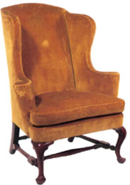 1780's American Wing Back chair
