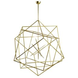Amazing contemporary prism shapes pendent