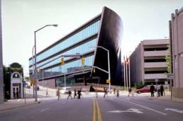 The modern Natuzzi Building
