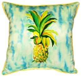 pineapple outdoor-pillows