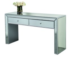 A glam look mirror mirror table
