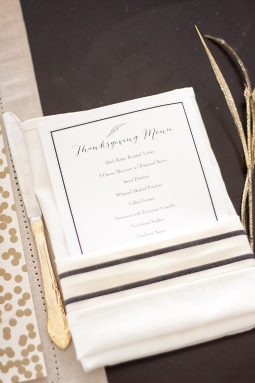 Black and Gold Tablescape-02