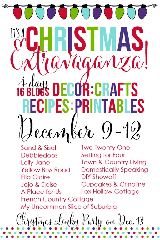 Christmas Exravaganza Blog Hop and Linky Party Graphic (1)