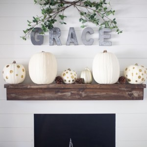 GRACE Autumn Mantel