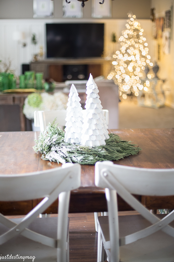 Christmas Kitchen with World Market Dining Table