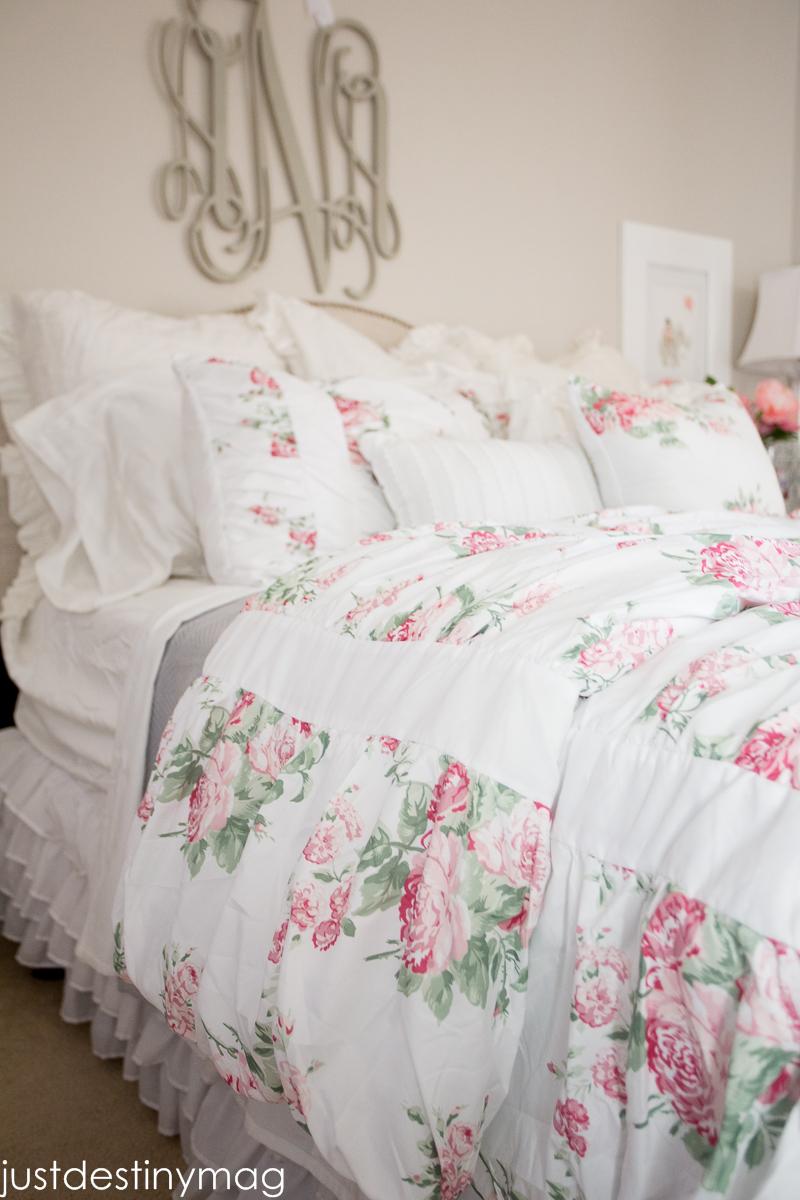 Spring Bedroom Update Just Destiny