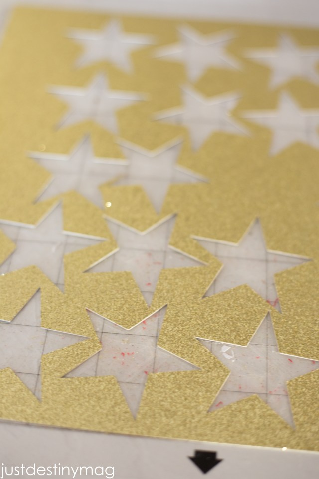 DIY STAR GARLAND-4