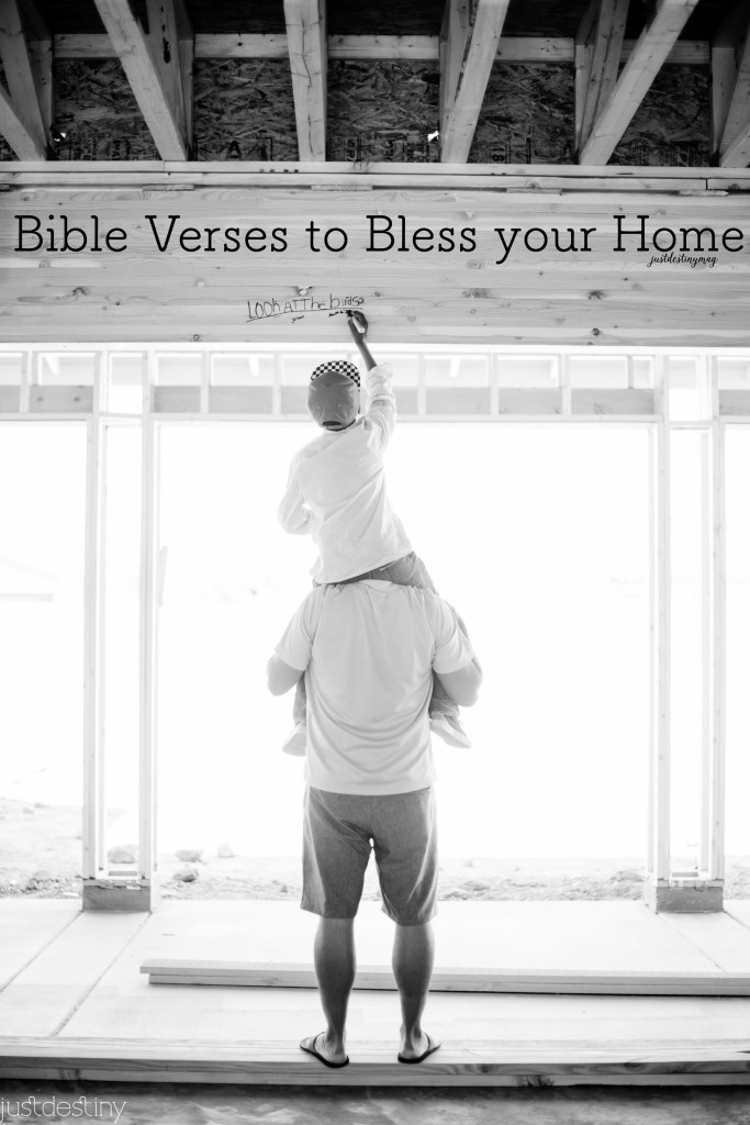Bible Verses to Bless your Home