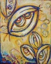 "Insight, oil on canvas, 60 x 48"""