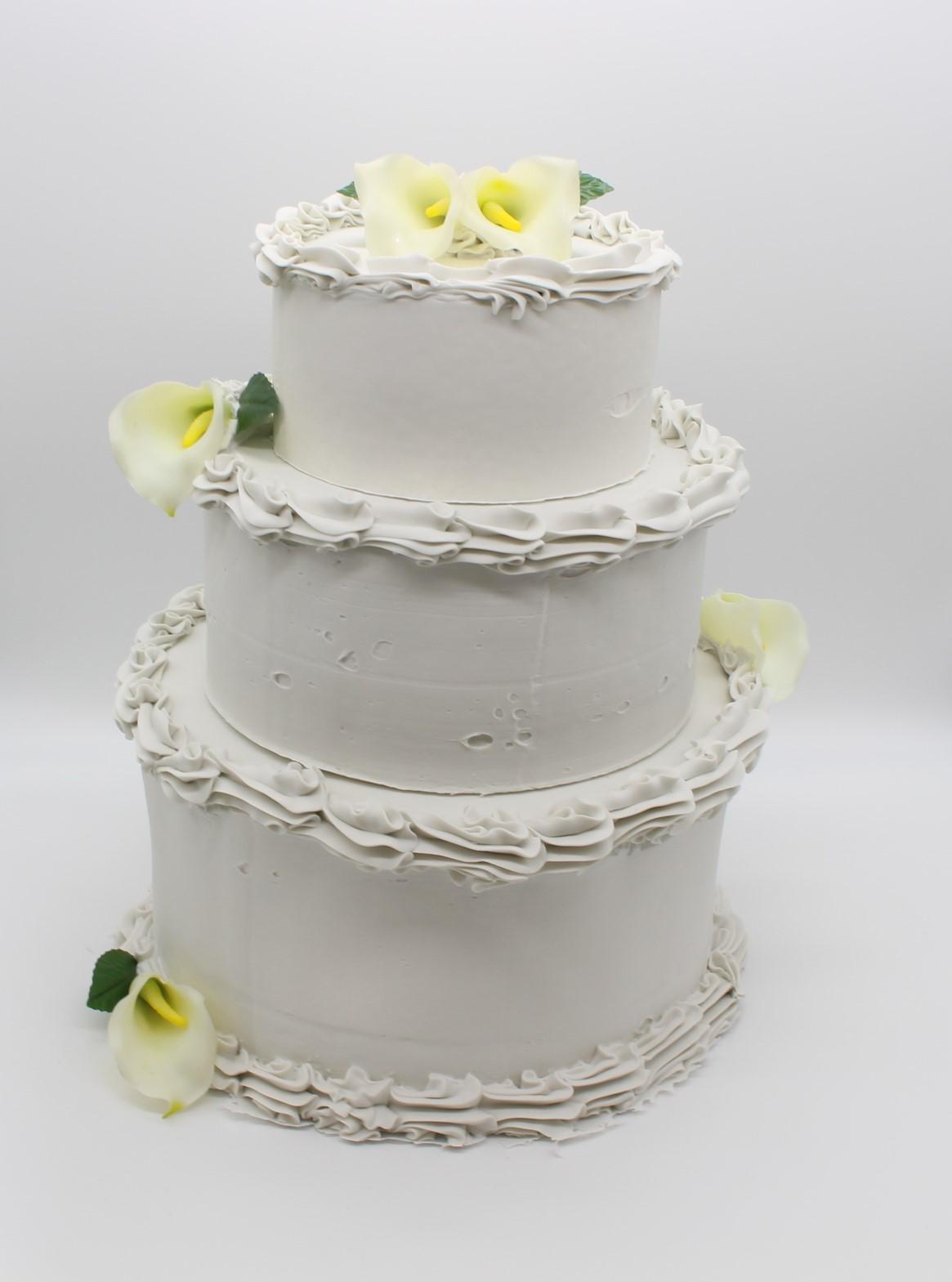 Fake 3 Tier Wedding Cake