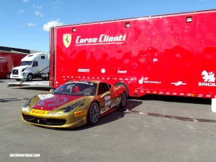 Ferrari 458 racer