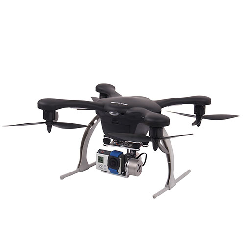 Ghost Aerial Quadcopter with 2D Gimbal