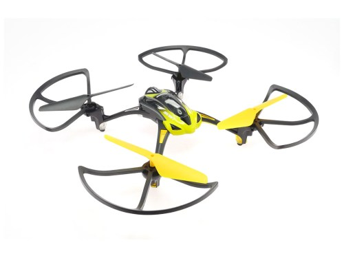 L6052W WiFi FPV Quadcopter with Guards in Yellow