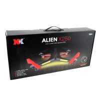 Alien X250 5.8GHz FPV Quadcopter with Controller - Box