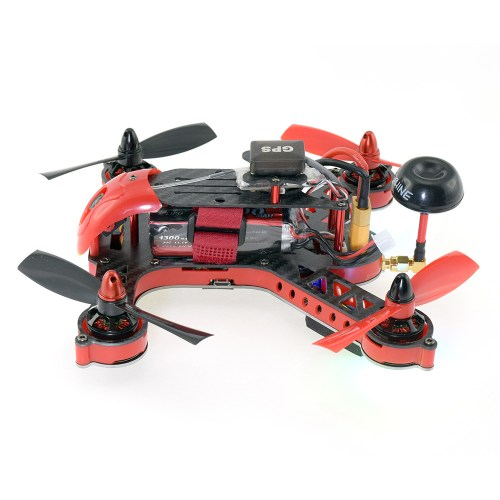 Eachine EB185 GPS FPV Racing Drone - Side View
