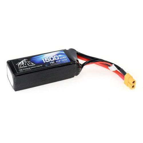 Leopard Power 1500mAh 75C 4S 14.4V Li-Po Battery