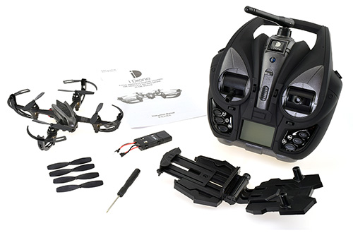 i4W Wi-Fi FPV Quadcopter - In the Box