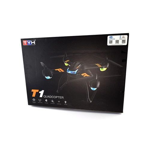 T1 720p HD Wi-Fi FPV Quadcopter Box
