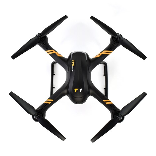 T1 720p HD Wi-Fi FPV Quadcopter Top View