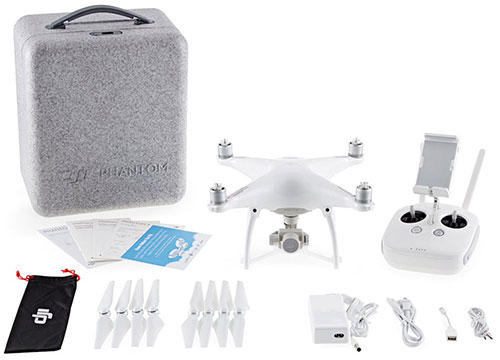 DJI Phantom 4 Quadcopter - In The Box