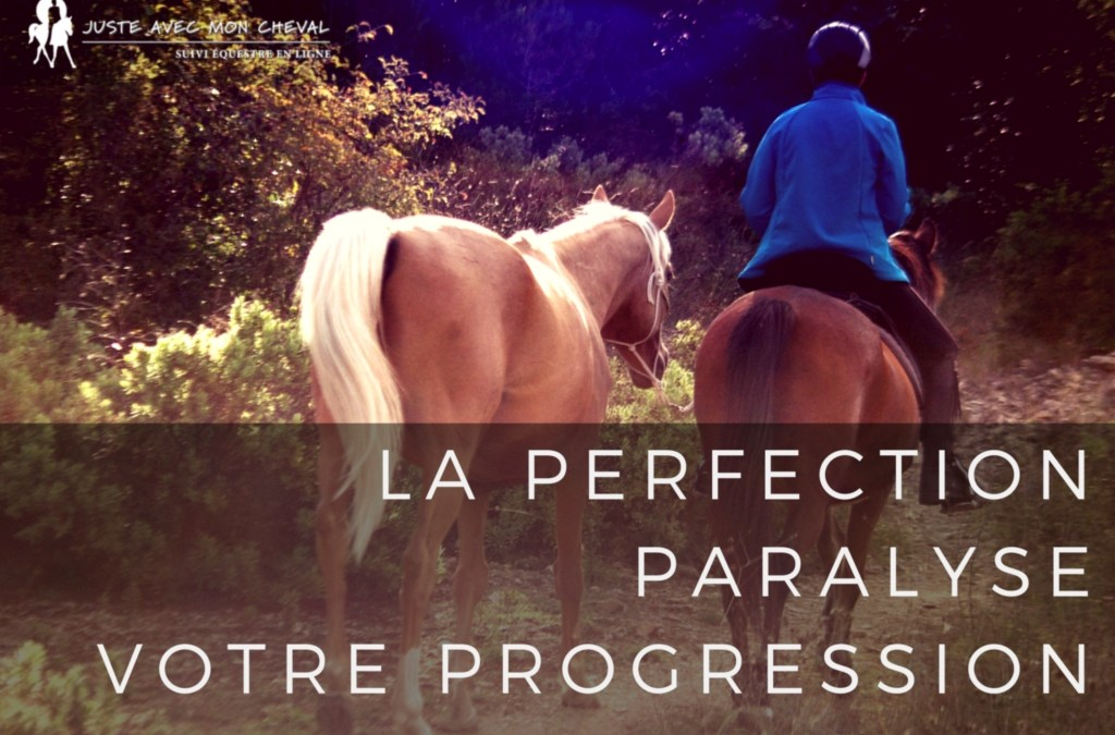 La perfection paralyse votre progression