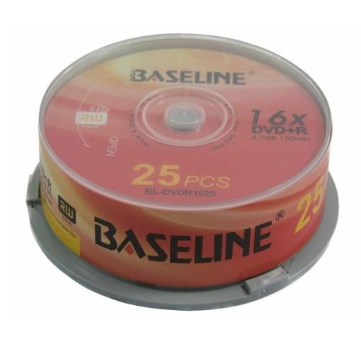 Baseline DVD+R 25 Pack