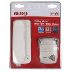 Ellies 2 Way Wired Intercom BDPO