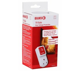 Ellies TV Safe Voltage Protection Plug FEATVG16