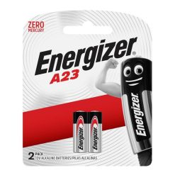 Energizer A23 Alkaline Batteries Pack of 2