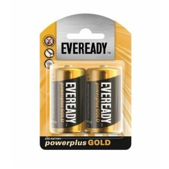 Eveready Size D Powerplus Gold Batteries 2 Pack