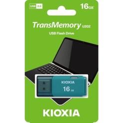 Kioxia 16GB TransMemory U202 Flash Drive LU202L016GG4