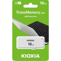 Kioxia 16GB TransMemory U203 Flash Drive LU203W016GG4