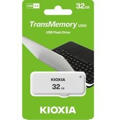 Kioxia 32GB TransMemory U203 Flash Drive LU203W032GG4