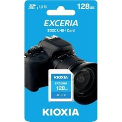Kioxia Exceria 128GB SDHC Memory Card UHS-I U1 Class 10 100MB LNEX1L128GG4