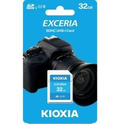 Kioxia Exceria 32GB SDHC Memory Card UHS-I U1 Class 10 100MB LNEX1L032GG4