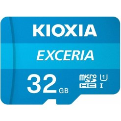Kioxia Exceria 32GB microSD Memory Card with Adapter LMEX1L032GG2
