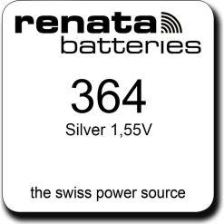 Renata 364 SR621SW Swiss Watch Battery