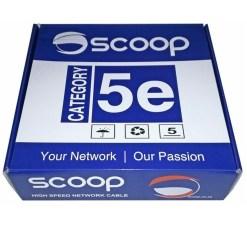Scoop Cat5e 100M UTP CCA Network Cable